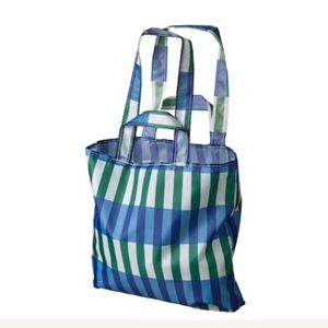NEW TWO Ikea foldable carrier bags